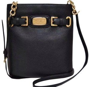 49f9efea9bf644 Michael Kors Daniela Large Coffee Leather Cross Body Bag - Tradesy