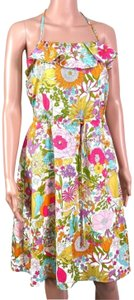 Liberty of London for Target short dress Yellow/Pink on Tradesy