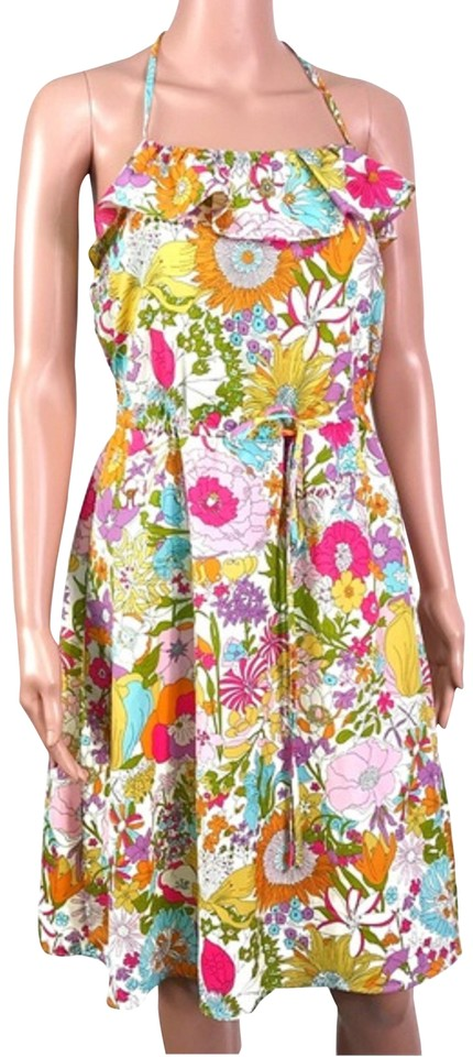 784599160f8 Liberty of London for Target short dress Yellow Pink on Tradesy Image 0 ...