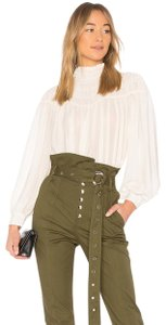 Marissa Webb Capri/Cropped Pants Forest Green