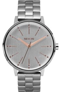 Nixon A0992701 Womens Silver Steel Bracelet With Off White Analog Dial Watch