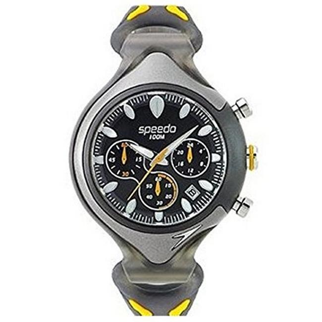 Item - Multi Color Sd55161bx Men's Rubber Band with Black Analog Dial Watch