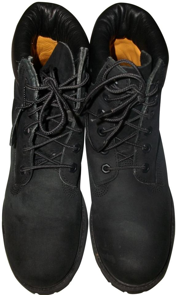c0481615cce Timberland Black Suede Waterproof Hiking 10m Boots/Booties Size US 10  Regular (M, B)