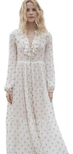 Salt Maxi Dress by Dôen Embroidery Maxi Cream Floral