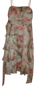 Maurice Lacroix short dress floral Print Designer on Tradesy
