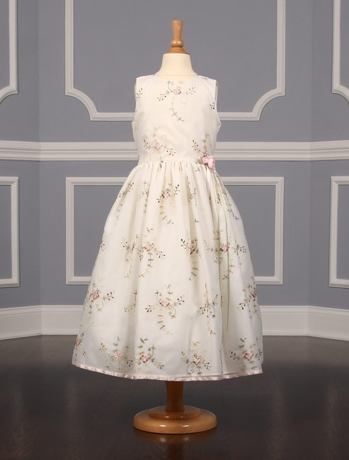 Item - Ivory and Pink 431 Flower Girl Dress