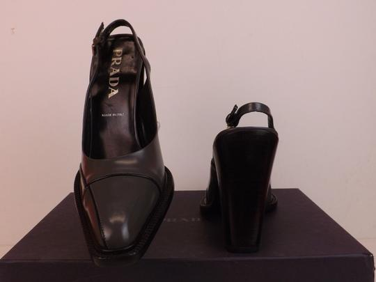 Prada Grey Pumps Image 4