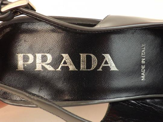 Prada Grey Pumps Image 9