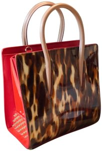 Christian Louboutin Tote in brown red
