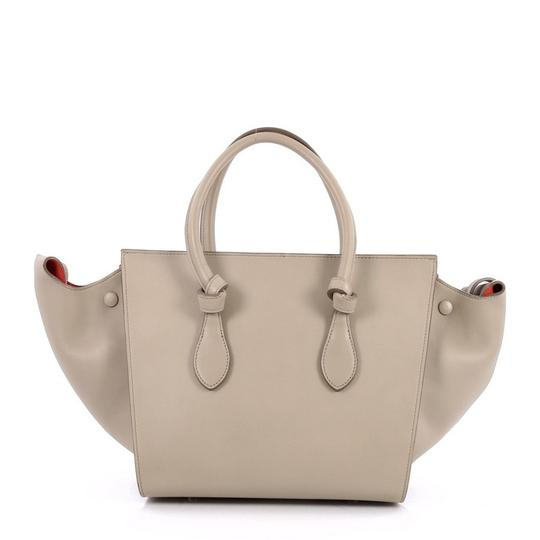 Céline Leather Tote in beige Image 3