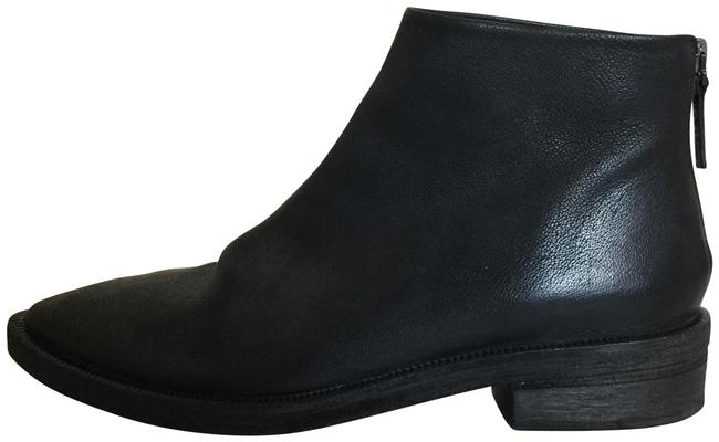 Item - Black Leather Ankle Boots/Booties Size US 10 Regular (M, B)