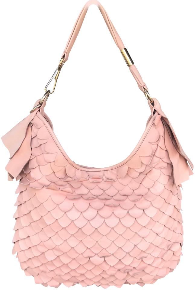 a86722ba0b6 Saint Laurent Shoulder Ysl St. Tropez Fish Scale Hobo Bag - Tradesy