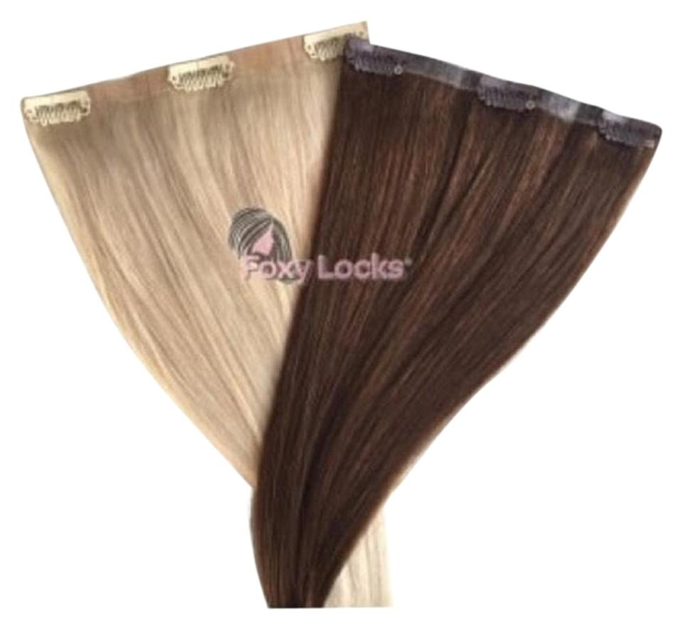 Chocolate Brown 22 Clip In Human Extensions 230g Hair Accessory