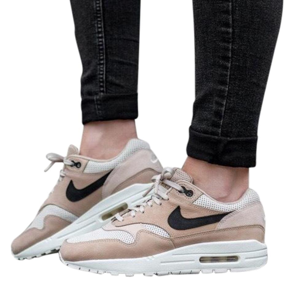 new product 15167 17657 Nike Tan Women s Air Max 1 Pinnacle Mushroom Sneakers. A Neutral Colorway  with A Stand-out Swoosh Offers Versatile Style For Sneakers