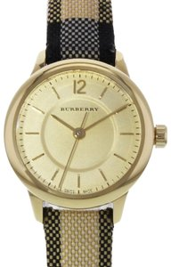 Burberry BU10201 26mm Honey Dial Stainless Steel Gold Tone Quartz Watch