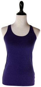 Tee Shop Racerback Sleeveless Top Purple
