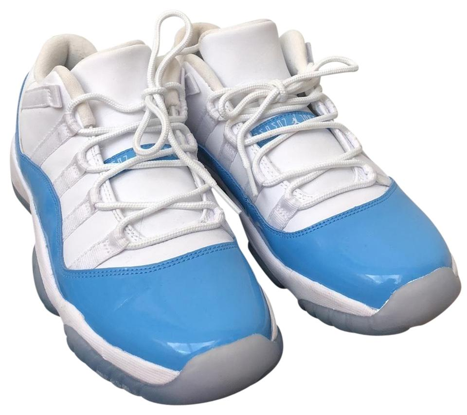 finest selection f01f0 c6a00 Air Jordan white and Carolina blue Athletic Image 0 ...
