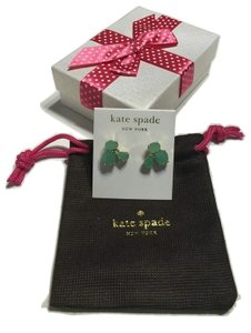 Kate Spade Kate Spade Cluster Stud Earrings (Bud Green)
