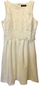 Ivanka Trump Flower Shapes Bodice A-line Skirt Lined New With Tags Dress