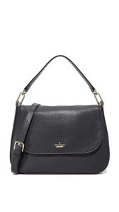Kate Spade Designer Leather Crossbody Black Messenger Bag