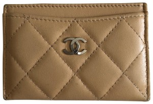 Chanel Beige Clutch