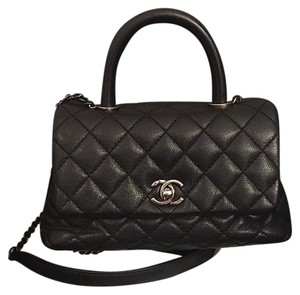 Chanel Coco Coco Handle Coco Caviar Caviar Coco Shoulder Bag