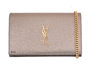 Saint Laurent Monogram Leather Cross Body Bag
