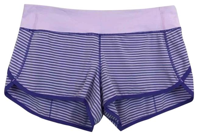 Item - Purple Speed Shorts-iris Flower Shorts Size 8 (M, 29, 30)