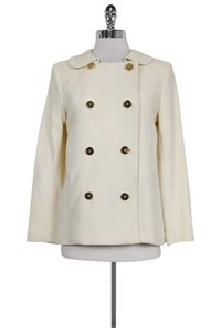 MILLY Gold Pea Coat