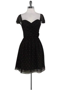 The Kooples short dress black And Red Sweetheart Xs on Tradesy