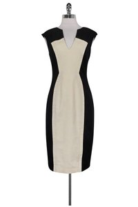 Black Halo short dress Black Cream Fitted on Tradesy