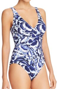 Tommy Bahama Tommy Bahama floral wrap front v-neck one piece