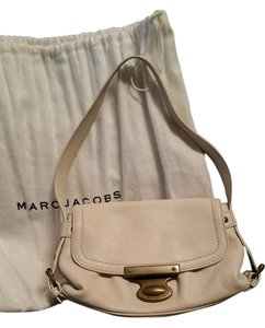 Marc Jacobs Leather Suede Marc By Shoulder Bag