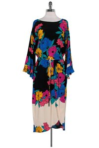 Tracy Reese short dress Multicolor Floral Tulip Skirt on Tradesy