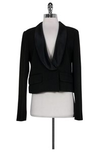 See by Chloé Satin Collar Black Jacket
