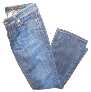 AG Adriano Goldschmied Jeand Boot Cut Jeans-Medium Wash