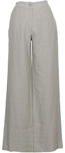 Item - Stone Gray Transitional Linen Wool Twill S Pants Size 6 (S, 28)
