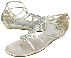 374abc4f2 Silver Stuart Weitzman Sandals - Up to 90% off at Tradesy