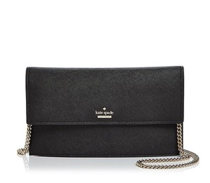Kate Spade Wallet On Chain Card Case Designer Leather Cross Body Bag
