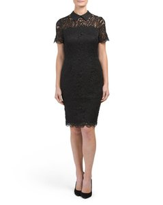 Karl Lagerfeld short dress Black Lace Chanel Cocktail on Tradesy