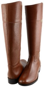 Tory Burch Designer Leather Rustic brown Boots