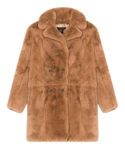 Maje Fur Coat