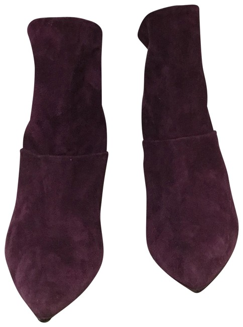 Item - Plum Naomi Ankle Boots/Booties Size EU 38 (Approx. US 8) Narrow (Aa, N)