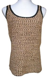 Carmen Marc Valvo Top Black Gold