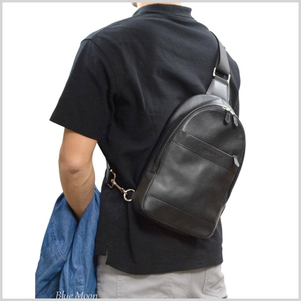 acb49e86f17f Coach Men s Charles Pack In Smooth F54770 Midnight Leather Backpack -  Tradesy