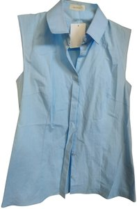 Delpozo Top Baby blue