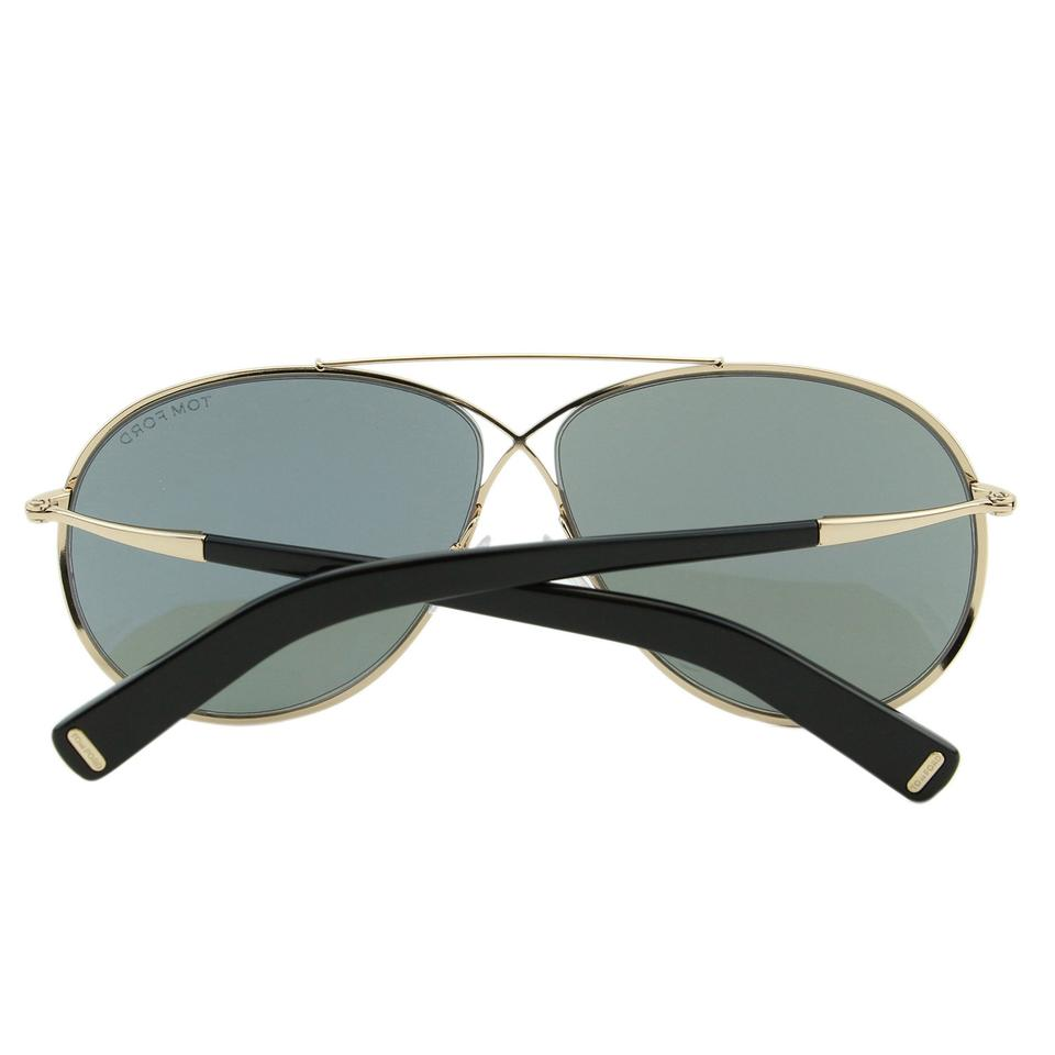 30f8cceae5 Tom Ford Ft-0374 Eva Women Metal Cross Over Detail Infinity Mirrored  Sunglasses Image 8. 123456789