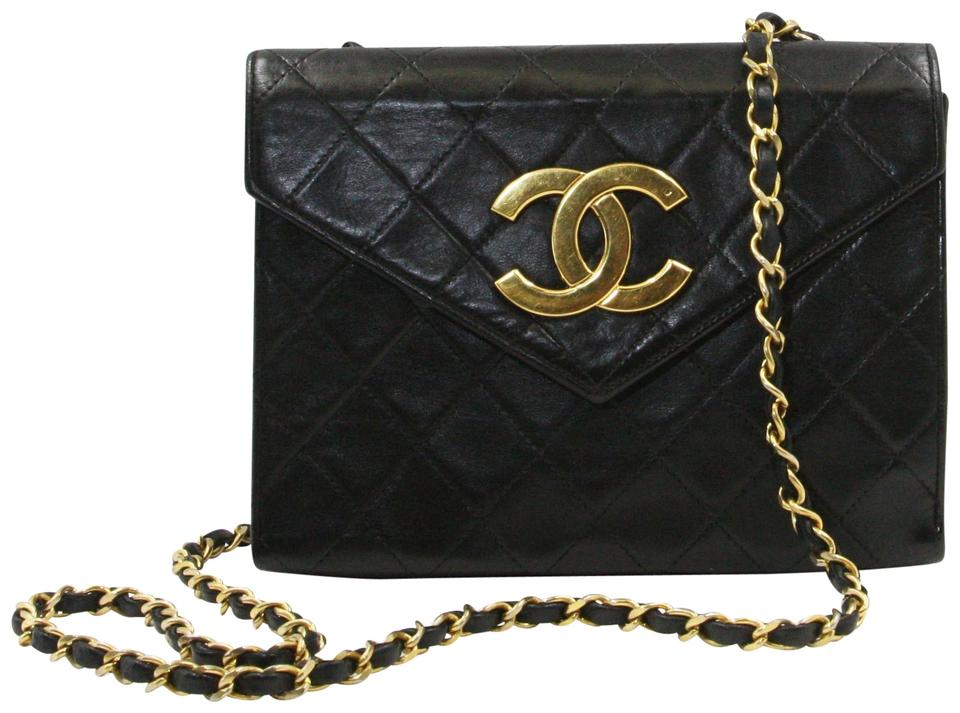 4e10a97e4ff3 Chanel Classic Flap Lambskin Leather Leather Shoulder Bag Image 0 ...
