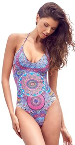 Red Carter Red Carter Montezuma V-Neck Strappy Back One-Piece Swimsuit