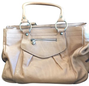 Ellen Tracy Tote in Light Saddle Brown